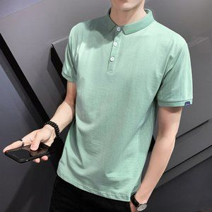New men's trendy short-sleeved t-shirt S